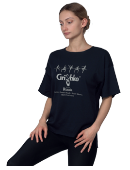 Stylish T-shirt with a Grishko logo